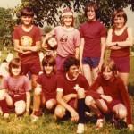 Die roten Acht, Fußballturnier Greifensee (CH, 1974)