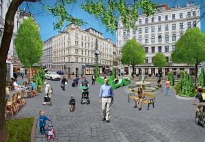 Bezirkszentrum-Hauer-Platz